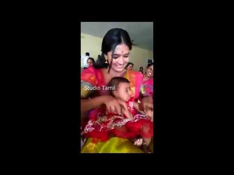 Hot Vani Bojan Cute With Baby