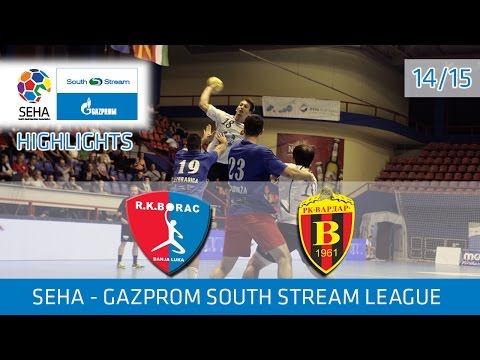 Borac m:tel vs. Vardar | SEHA GSS LEAGUE ROUND 2