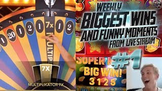 CASINO HIGHLIGHTS FROM LIVE CASINO GAMES STREAM WEEK #1 With Big Wins And Funny Moments