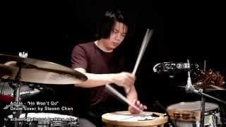 Steven Chen - He Won't Go (Adele drum cover)