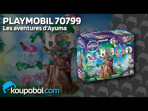 Vidéo PLAYMOBIL Ayuma 70799 : Arbre magique de fées