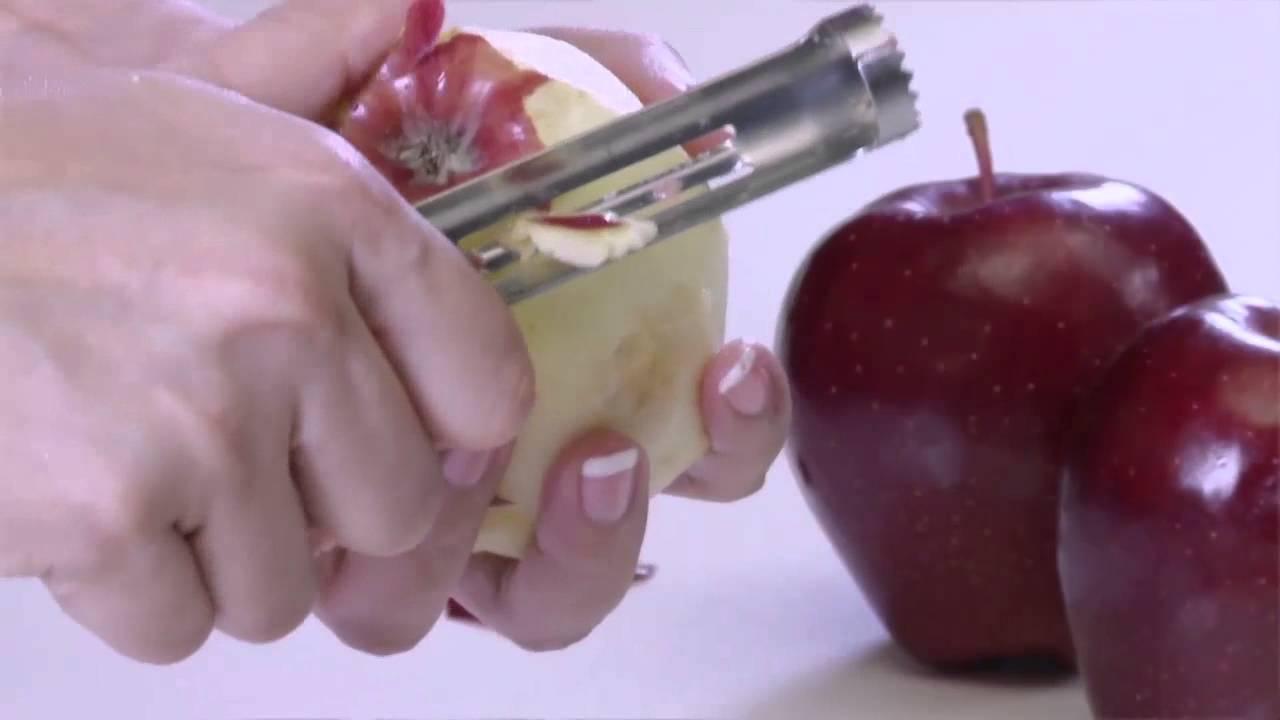 كيفية تقشير تفاحة
