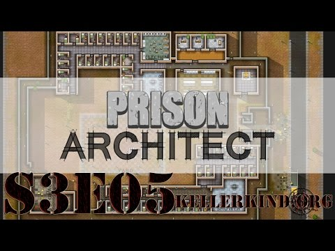 Prison Architect [HD] #032 – Plan des Bauherren ★ Let's Play Prison Architect