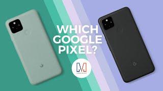 Google Pixel 4a vs Google Pixel 4a 5G vs Google Pixel 5 - 2020 Google Pixel Buyer's Guide