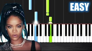 Calvin Harris - This Is What You Came For ft. Rihanna - EASY Piano Tutorial by PlutaX