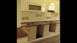 Кухня фото № 41 фасад постформинг цвет Белый - крем . от компании Фаберме - видео 2