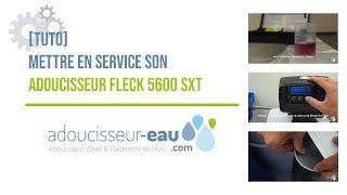 Mettre en service son adoucisseur d'eau avec Adoucisseur-Eau.com