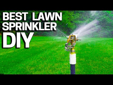 Best Lawn Sprinkler DIY - Without an Irrigation System- Easy
