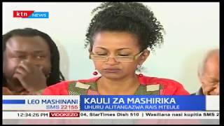 Taarifa ya mashirika ya kijamii wakitilia doa kuteuliwa kwa Uhuru Kenyatta kuwa rais wa Kenya