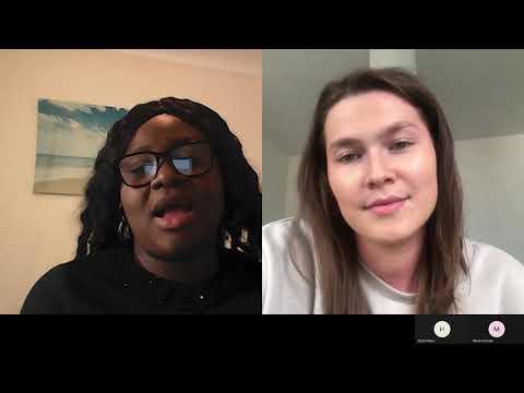 Covid Conversation: Funmi and Klaudia