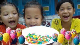 Trò Chơi Của Bé Tập 13 ❤ KN Cheno Bé Na ❤ Kẹo Màu Đồ Chơi Trẻ Em toys for kids