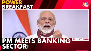 PM Modi Meets Chiefs Of Banks & NBFCs: This Is What He Said | Power Breakfast | CNBC-TV18 - Download this Video in MP3, M4A, WEBM, MP4, 3GP
