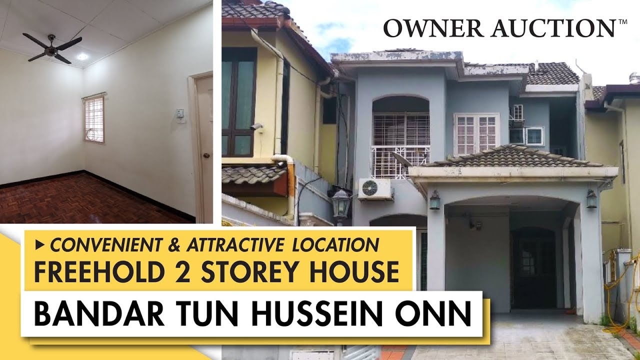 [Owner Auction™] Bandar Tun Hussein Onn - A FREEHOLD 2 Storey House for Auction Exclusively by Owner