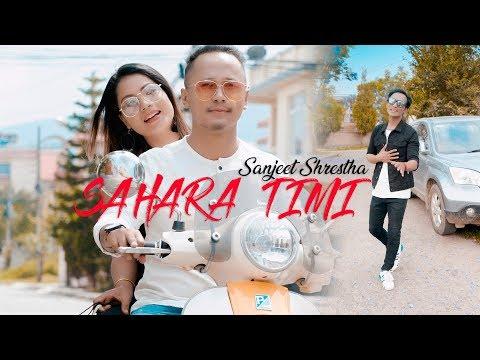 Download Sanjeet Shrestha - SAHARA TIMI Ft. Chhewang X Aruna || Official MV || HD Mp4 3GP Video and MP3