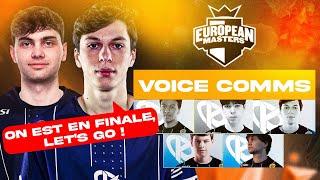 EU Masters : Voice Comms de la Karmine Corp en demi-finale