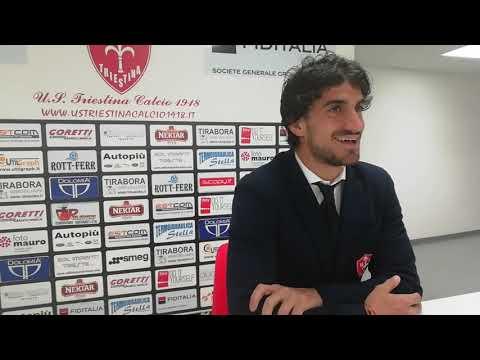 Sala stampa Triestina-Teramo: Rocco Costantino