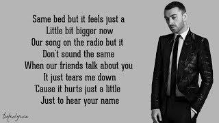 Sam Smith - When I Was Your Man (Lyrics)