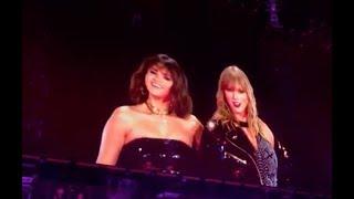 Selena Gomez and Taylor Swift - Hands To Myself (5/19) - Rep Tour Pasadena