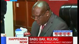 Bail or not! Babu Owino bail ruling