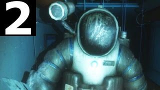 Narcosis Part 2 - Walkthrough Gameplay (No Commentary) (Survival Horror Adventure Game 2017)