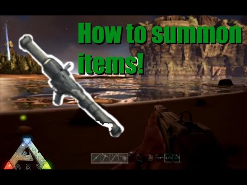 Ark Scorched Earth - How to use a Rocket Launcher and the