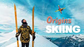 Pro Freeskier Tries 5000 Year Old Skis!!! | w/ Paddy Graham & Jon Olsson