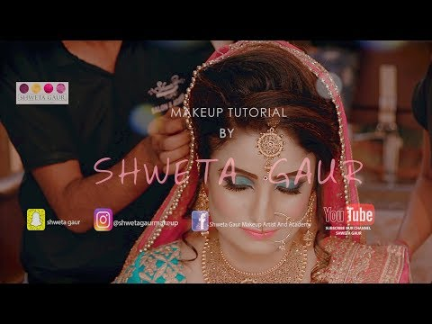 Beautiful HD bride makeup by !! Shweta Gaur !!
