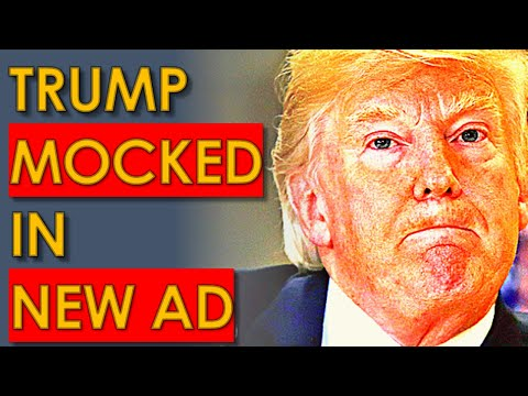 Trump gets TAUNTED in Hilarious Ad