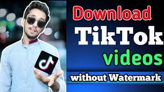 How to Download TikTok Videos Without Watermark | tiktok video downloader | Urdu | Hindi