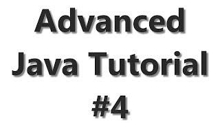 Advanced Java Tutorial #4 - Logging using log4j