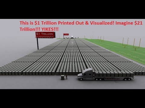 US National Debt Already At $21 Trillion! Nasty Effects of Negative Compounding Approaching?
