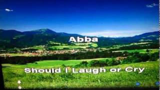 Should I Laugh or Cry (1981 - ABBA) - cover By Pino (Italian) vers. review