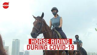 Horse Riding During COVID-19   Coronavirus Outbreak   BOOM   Ground Report