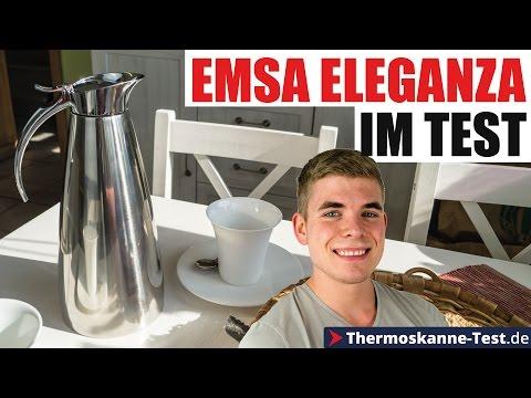 Emsa Eleganza Test - Meine Erfahrungen mit der edlen Thermoskanne!