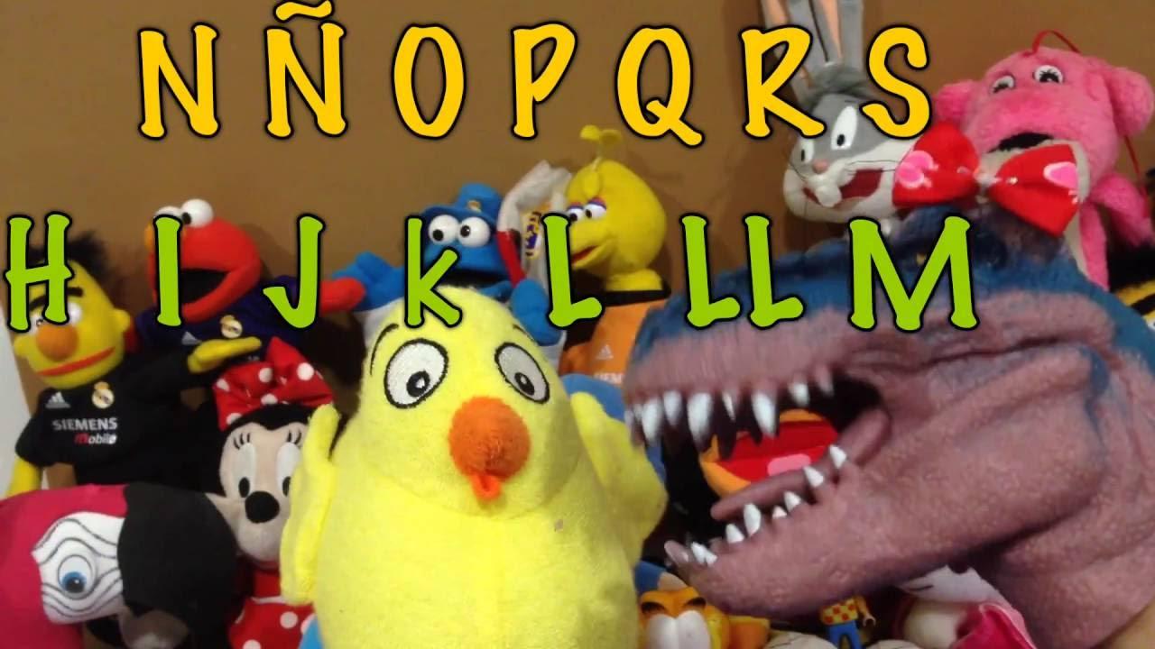 El Pollo Pepe, la Dino Paquita y el ABECEDARIO