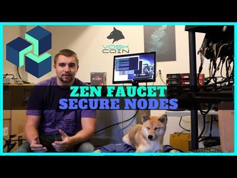 Earning Free ZenCash W/ Zen Secure Nodes & ZenCash Faucet - GetZen.Cash