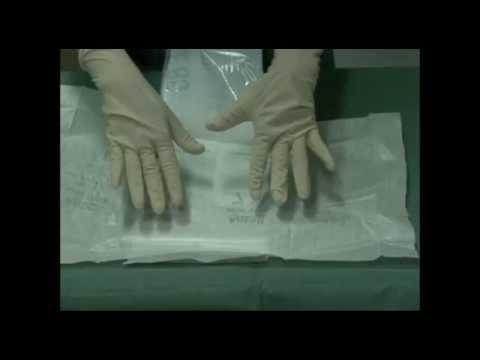 DOTFOX indossare i guanti sterili