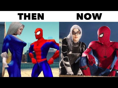 10 Best Video Game Graphics THEN vs NOW