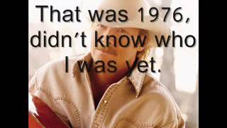 Alan Jackson 1976 Lyrics