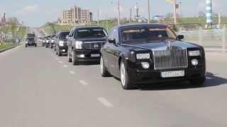 RollsRoyce 001RRA прокат  кортежей в Шымкенте +77023513535