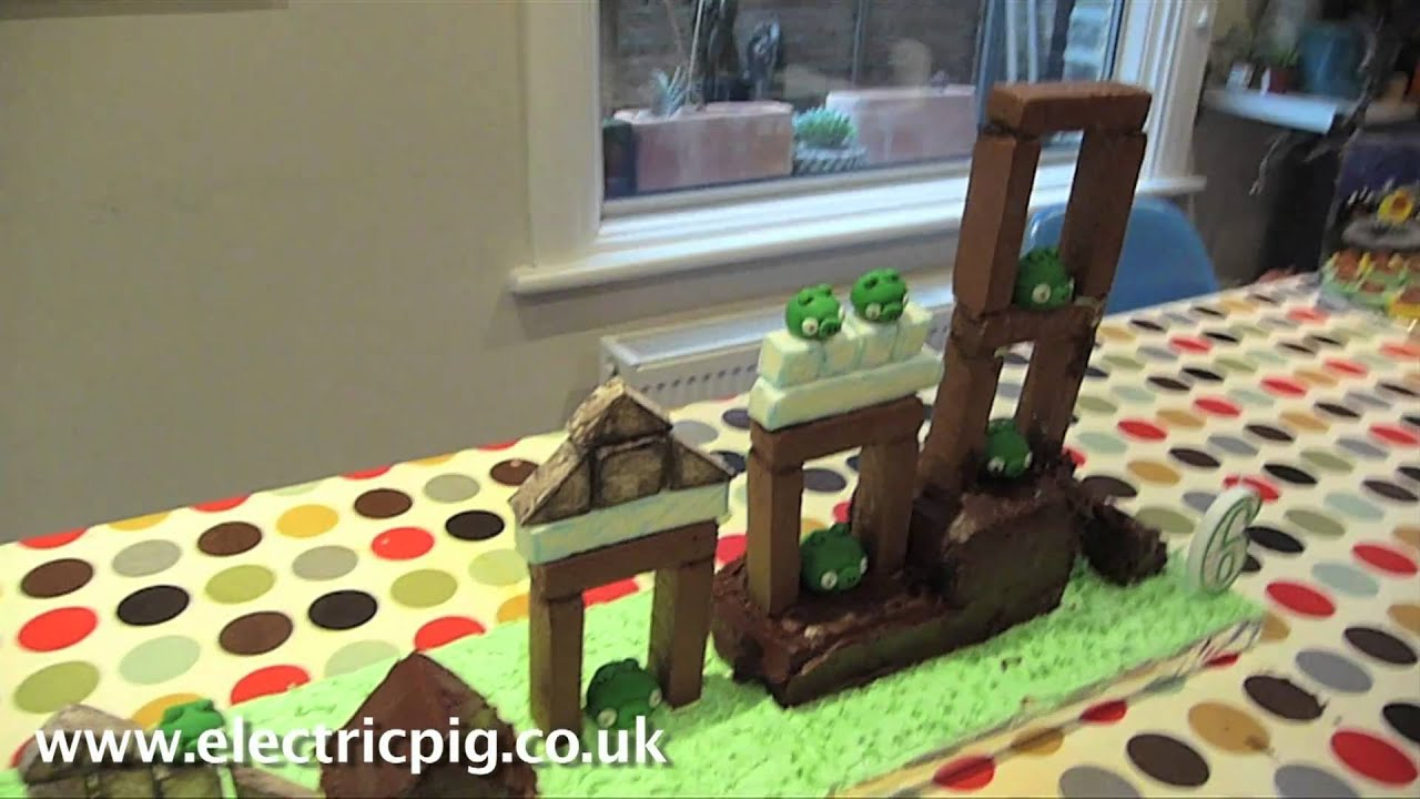 Playable Angry Birds Birthday Cake Is The Only Spin-Off Video You Need To Watch