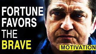 Fortune Favours The BRAVE - Profound Motivation - BEST Motivational Speech Compilation