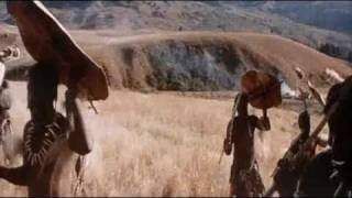 Zulu warrior chant