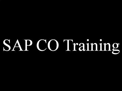 SAP CO Training - Introduction SAP CO (Video 1)   SAP CO ...