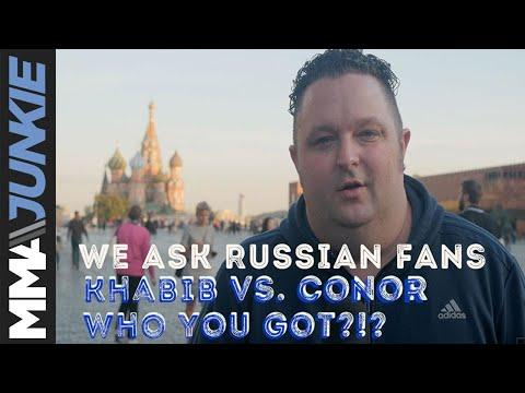 MMAjunkie asks Russian fans: Khabib vs. Conor, Who You Got?!?