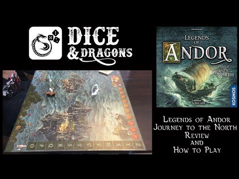 Dice and Dragons - Legends of Andor Journey to the North Review and How to Play (Road to the Last Hope part 4)