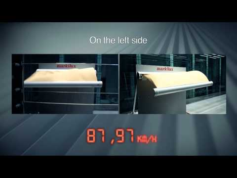 Wind Tunnel Test: Markilux 6000- Lateral Air Flow