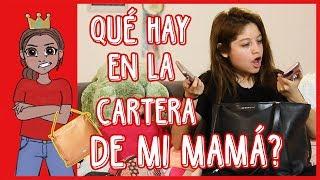 Karol Sevilla | Qué hay en la cartera de mi mamá? | #QueHayEnLaCarteraDeMiMama