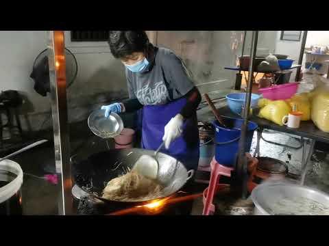 Economy fried Bihun and meebeside Chung Ling High School Penang Malaysia