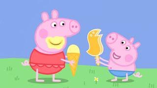 Peppa Pig En Español - Helado Con Peppa Y George! - Dibujos Animados